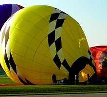 Balloon Inflating by Amy Herrfurth