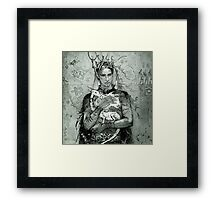 Prince and the little dragon Framed Print