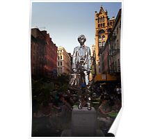 The Andy Warhol Monument in New York City Poster