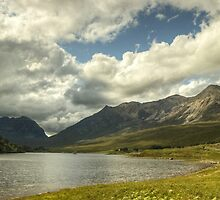 Beinn Eighe and Liathach across Loch Clair by VoluntaryRanger