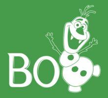 BOO - It's a Snowman! Baby Tee