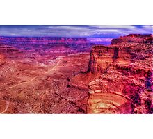 Shafer Canyon Photographic Print