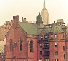 View from the Highline, New York City by Andrea Bell