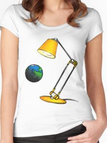 A light for all Women's Fitted Scoop T-Shirt