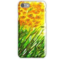 Sizzling Sunflowers  iPhone Case/Skin