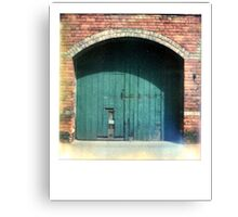 The Green Door that leads to Adventure... Canvas Print