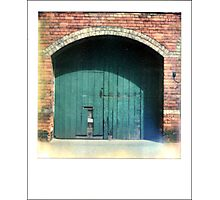The Green Door that leads to Adventure... Photographic Print
