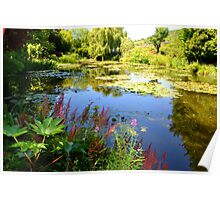 Monet's Garden at Giverny Poster