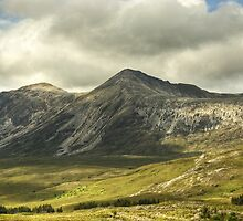 Beinn Eighe from the Coulin Forest by Jamie  Green
