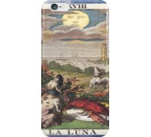 La Luna Blue Moon Tarot Card iPhone Case/Skin