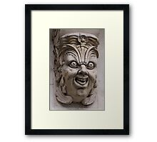 Paris gargoyle Framed Print