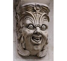 Paris gargoyle Photographic Print