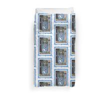 High Priestess Blue Tarot Card Fortune Teller Duvet Cover