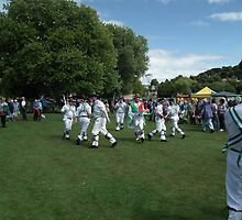 Devonshire Morris Men by lynn carter