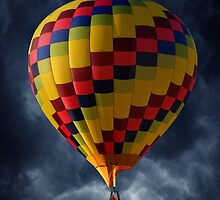 Stormy Flight by Michael  Herrfurth