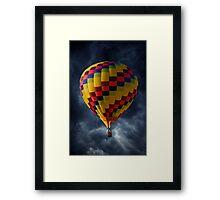 Stormy Flight Framed Print