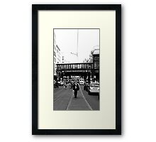 BERLIN - WALK ON FRIEDRICHSTRASSE Framed Print