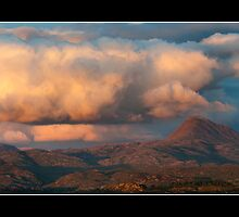 A beautiful sunset by chriscyner