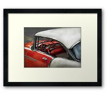 Car - Classic 50's  Framed Print