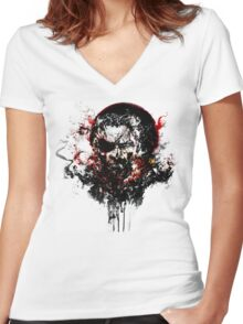 metal gear solid v the phantom pain Women's Fitted V-Neck T-Shirt
