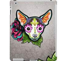 Day of the Dead Chihuahua in Moo Sugar Skull Dog iPad Case/Skin