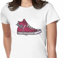 Achilles Heel Womens Fitted T-Shirt
