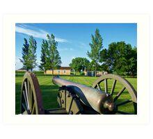 Prairie Outpost Art Print