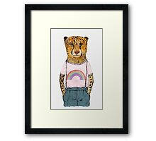 The Little Cheetah Framed Print