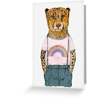 The Little Cheetah Greeting Card