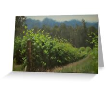 Walk in the Vineyard Greeting Card
