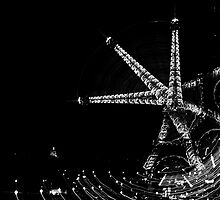 Fallen Eiffel Tower  by joasis