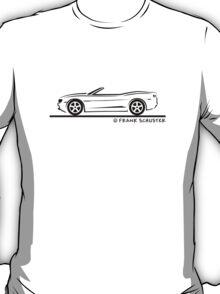 2010 Camaro Convertible T-Shirt