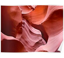 Jigsaw Rocks at Antelope Canyon Poster
