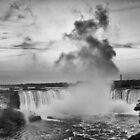 Niagara Falls Close  by Brad Walsh