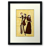Tim Burton's Harry Potter Framed Print
