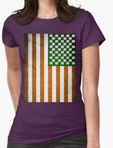 Irish American 015 Womens Fitted T-Shirt