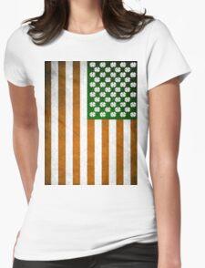 Irish American 015 Womens Fitted T-Shirt