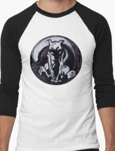 psychedelic psychic  Men's Baseball ¾ T-Shirt