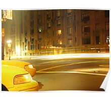 Upper West by taxi Poster