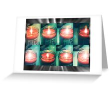 lomo-votive Greeting Card