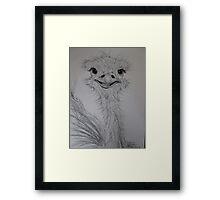 Ossie Who? Framed Print