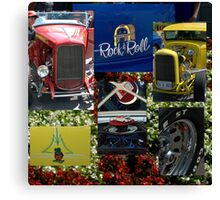 Rock 'n Roll........... Hot RODS... Canvas Print