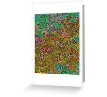 Floral #3 Greeting Card