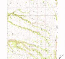 USGS Topo Map Oregon Mc Coy Ridge 280680 1968 24000 by wetdryvac
