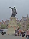 Statue of Jacob van Artevelde, Ghent, Belgium by Margaret  Hyde