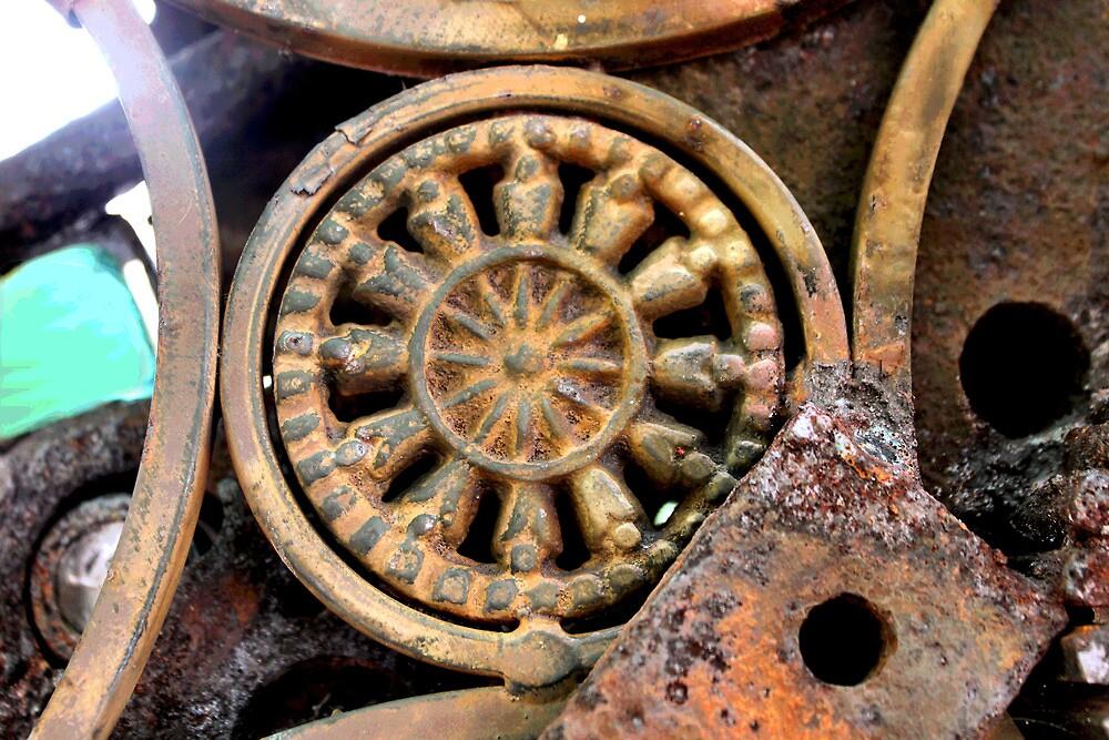 Gadget Wheel by Kristine McKay Kinder
