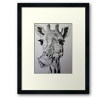 Hello Down There! Framed Print