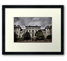 Aradale Facade Framed Print