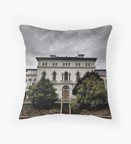 Aradale Facade Throw Pillow
