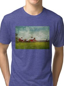 Another Day on the Farm Tri-blend T-Shirt